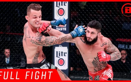 Full Fight | Sabah Homasi vs. Micah Terrill – Bellator  225