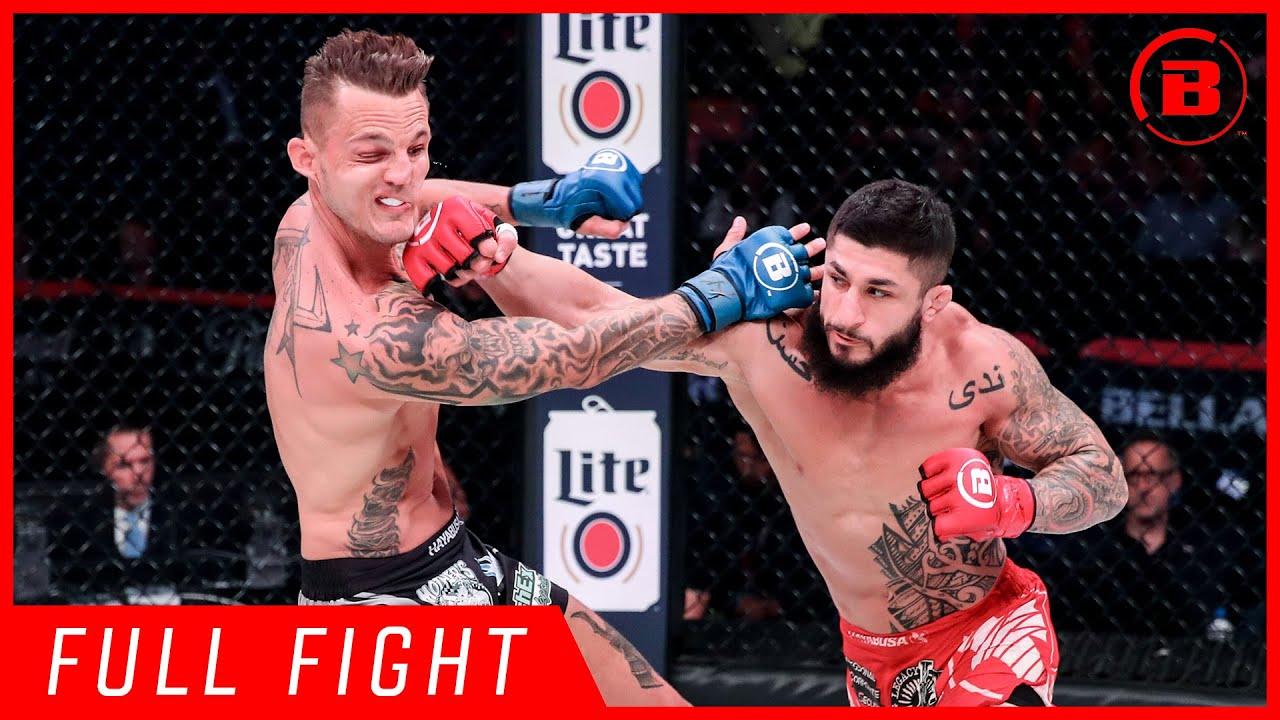 Full Fight   Sabah Homasi vs. Micah Terrill - Bellator  225