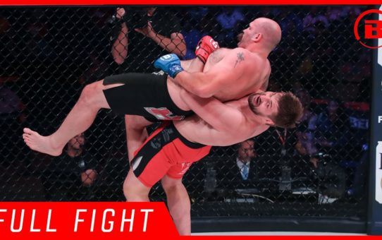 Full Fight | Vitaly Minakov vs Tim Johnson – Bellator 225
