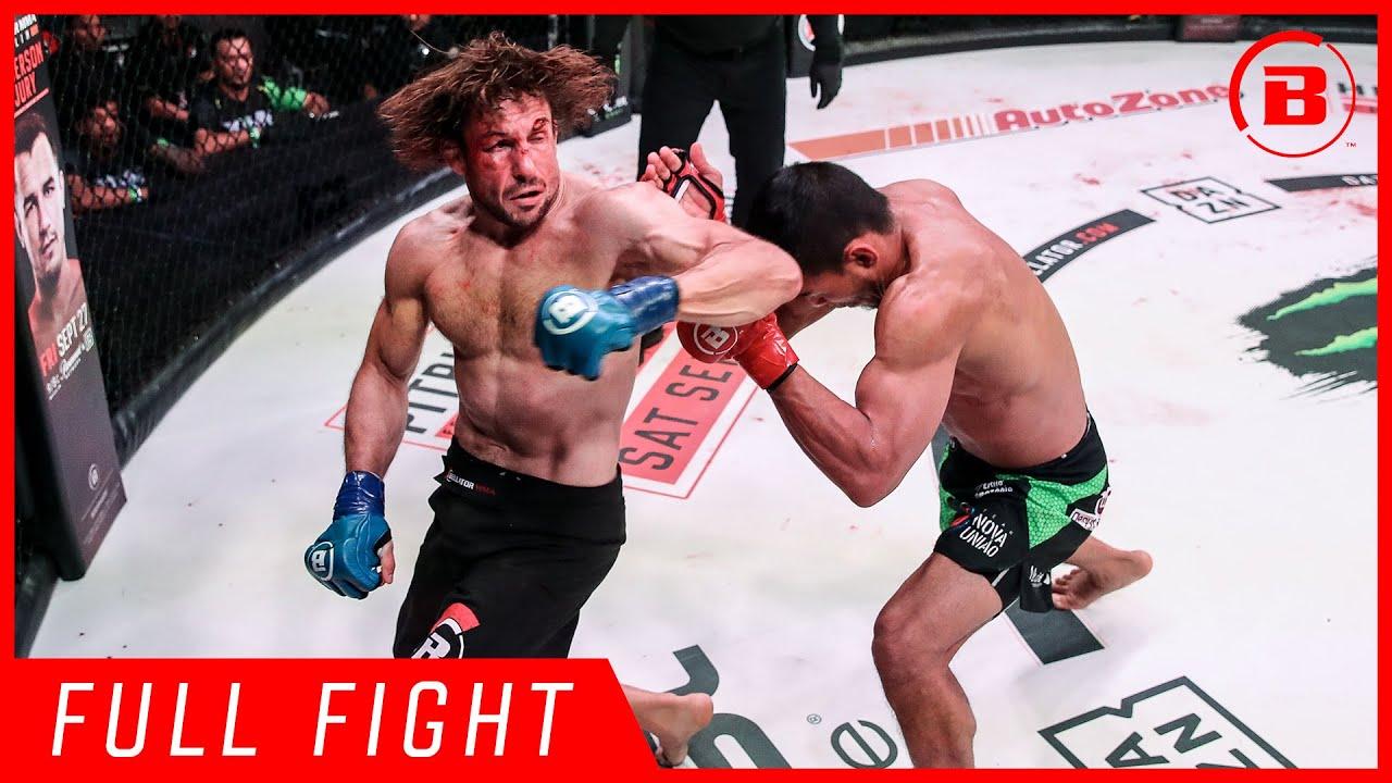 Full Fights   John Macapa vs Ashleigh Grimshaw - Bellator 226