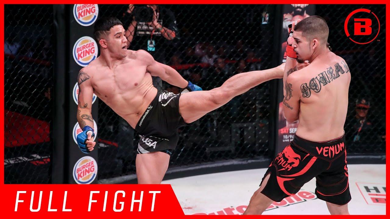 Full Fights   Tyson Miller vs. Albert Gonzales - Bellator 226
