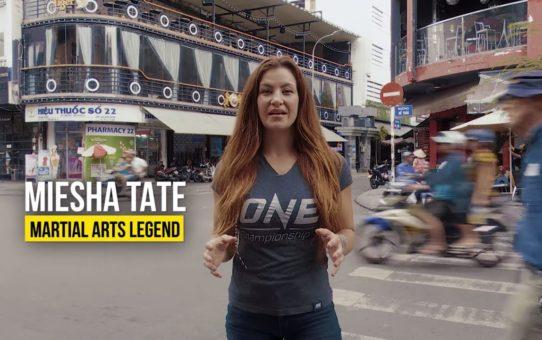 Miesha Tate Hits Ho Chi Minh City   Part 1   ONE VLOG