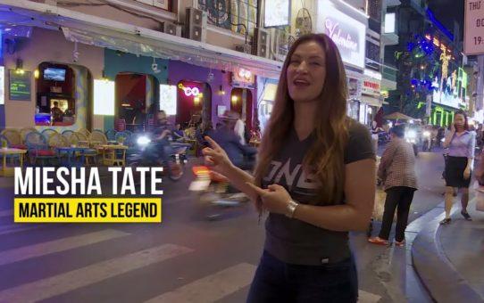 Miesha Tate Hits Ho Chi Minh City   Part 2   ONE VLOG