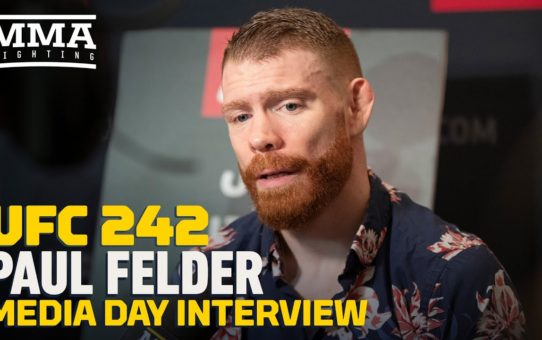 Paul Felder Reflects On First Edson Barboza Bout: 'I Was Just A Striker When I First Showed Up'