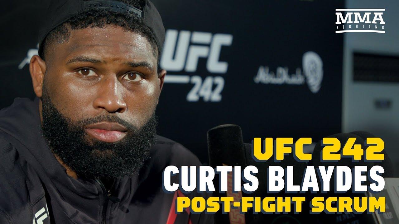 UFC 242: Curtis Blaydes Sees Junior Dos Santos As 'Logical' Next Fight - MMA Fighting