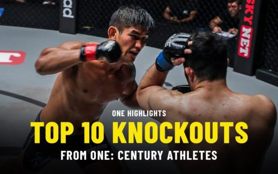 Top 10 Knockouts From ONE: CENTURY Athletes | ONE Highlights