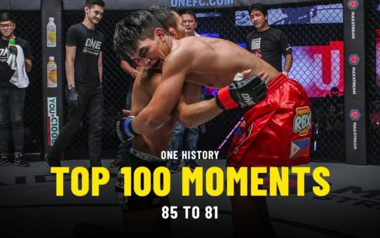 Top 100 Moments In ONE History | 85 To 81 | Ft. Danny Kingad, Rodtang & More