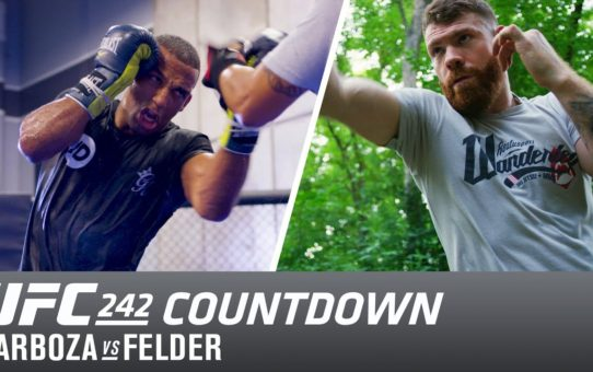 UFC 242 Countdown: Edson Barboza vs Paul Felder