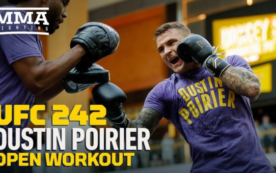 UFC 242: Dustin Poirier Open Workout Highlights – MMA Fighting