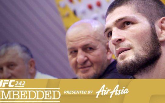 UFC 242 Embedded: Vlog Series – Episode 1