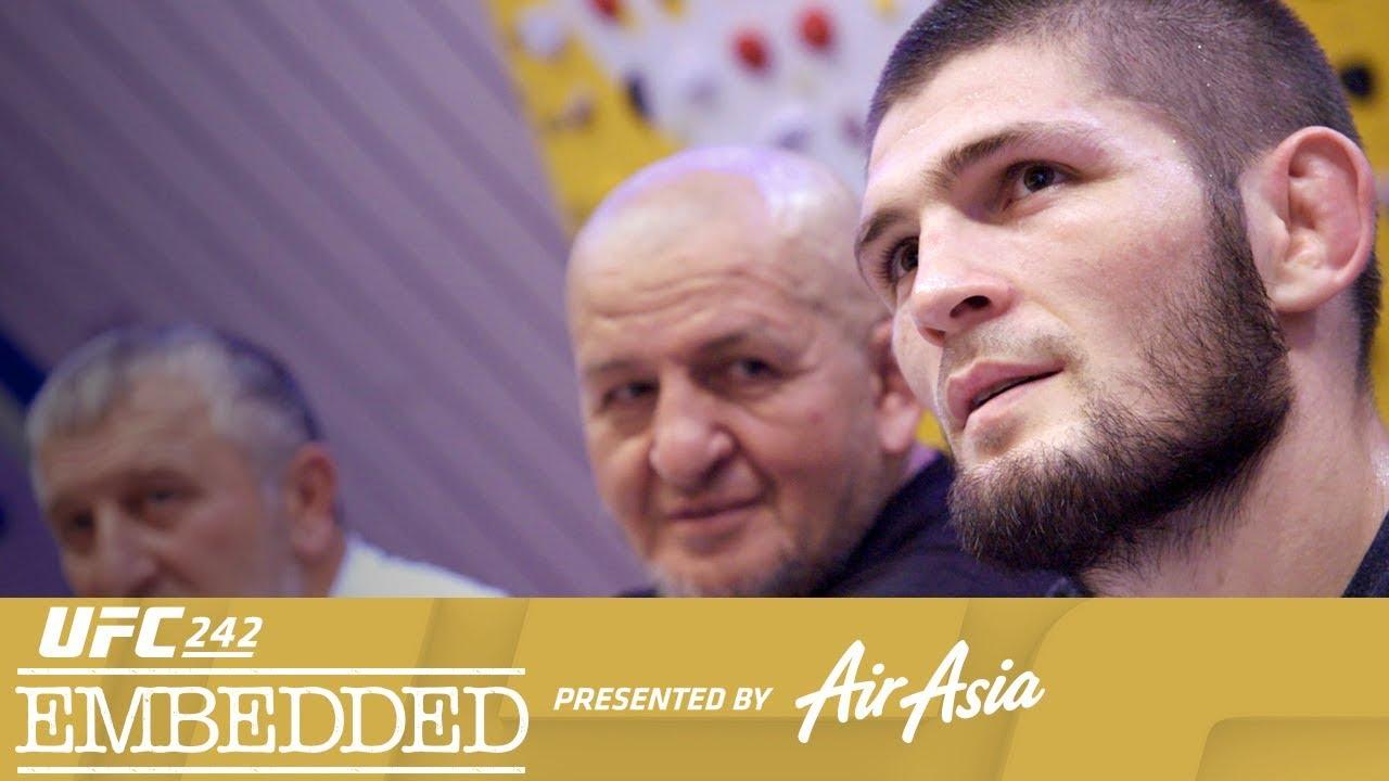 UFC 242 Embedded: Vlog Series - Episode 1