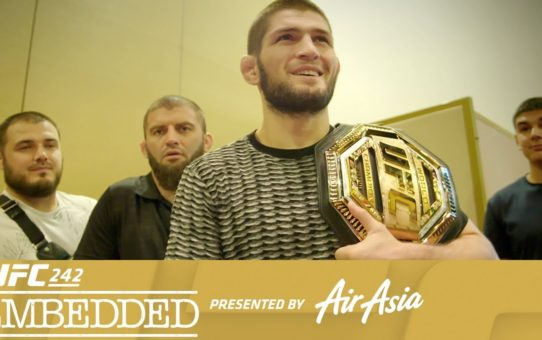 UFC 242 Embedded: Vlog Series – Episode 3