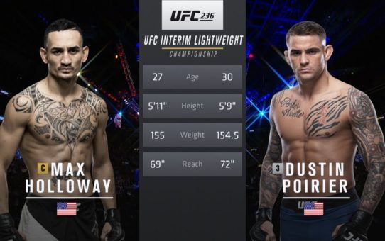 UFC 242 Free Fight: Dustin Poirier vs Max Holloway