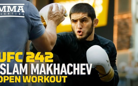 UFC 242: Islam Makhachev Open Workout Highlights – MMA Fighting