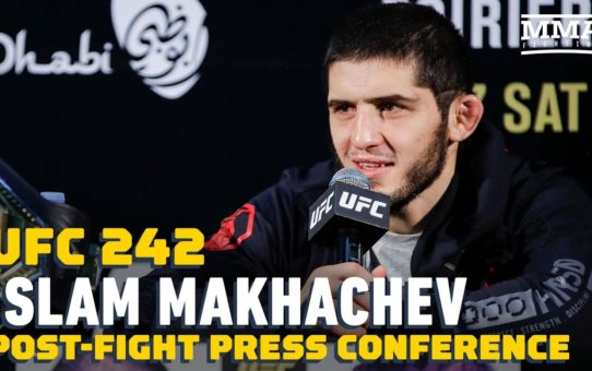 UFC 242: Islam Makhachev Post-Fight Press Conference – MMA Fighting