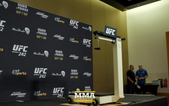 UFC 242 Official Weigh-in Live Stream – MMA Fighting