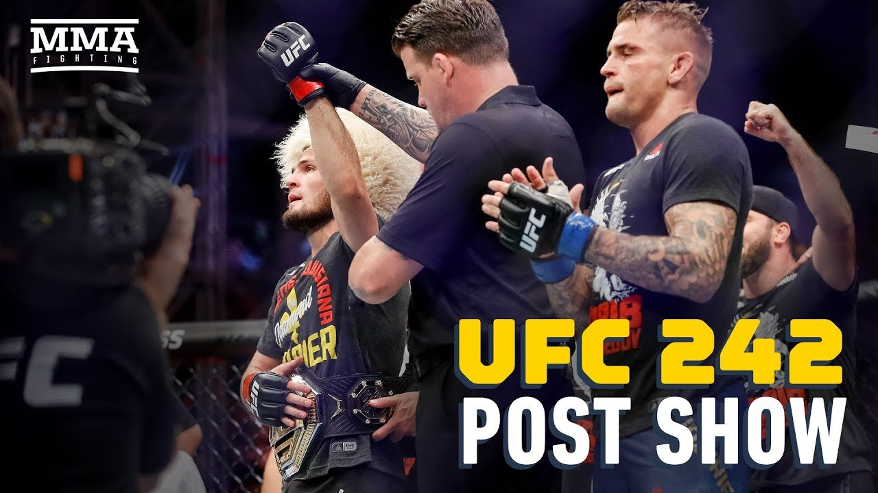 UFC 242 Post-Fight Show - MMA Fighting