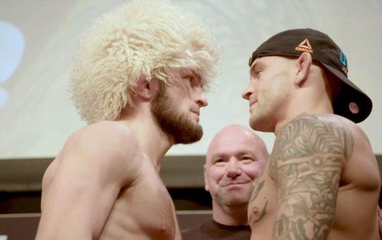 UFC 242: Weigh-in Recap