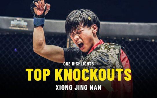 Xiong Jing Nan's Top Knockouts | ONE Highlights