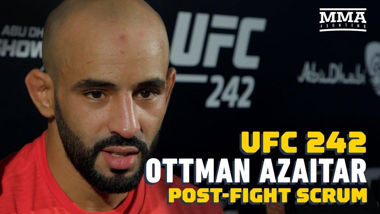 UFC 242: Ottman Azaitar Says He power From Crowd Before Brutal KO Of Teemu Packalen - MMA Fighting