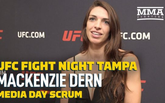 UFC Tampa: Mackenzie Dern Wants to Expand Her Family But Not Until After She's UFC Champion