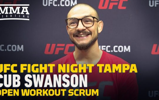 UFC Tampa: Cub Swanson Understands He's Being Set Up as 'Stepping Stone' In Kron Gracie Matchup