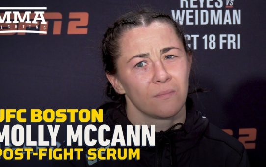 UFC on ESPN 6: Molly McCann Thinks Finish Would Have Solidified Top-10 Opponent For Next Fight