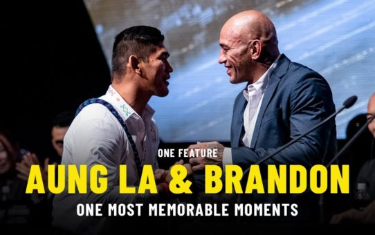 Aung La N Sang & Brandon Vera's ONE Most Memorable Moments | ONE Feature