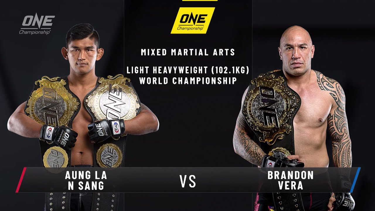 Aung La N Sang vs. Brandon Vera | ONE: CENTURY Open Workout