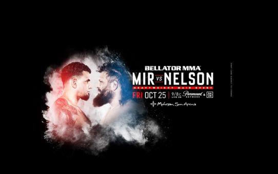 Bellator 231: Mir vs. Nelson LIVE Weigh Ins