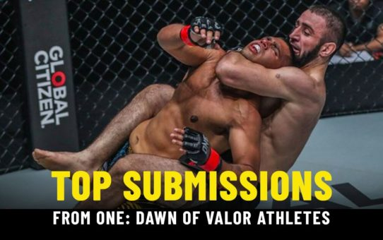 Best Submissions From ONE: DAWN OF VALOR Athletes | ONE Highlights