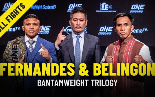 Bibiano Fernandes vs. Kevin Belingon | Bantamweight Trilogy | ONE Full Fights