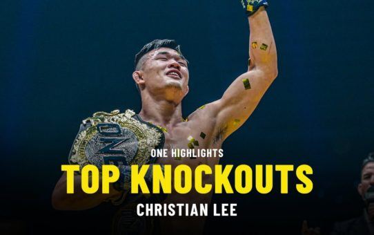Christian Lee's Top Knockouts | ONE Highlights
