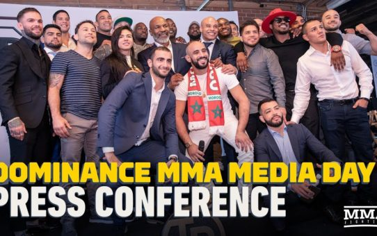 Dominance MMA Media Day Press Conference Video – MMA Fighting