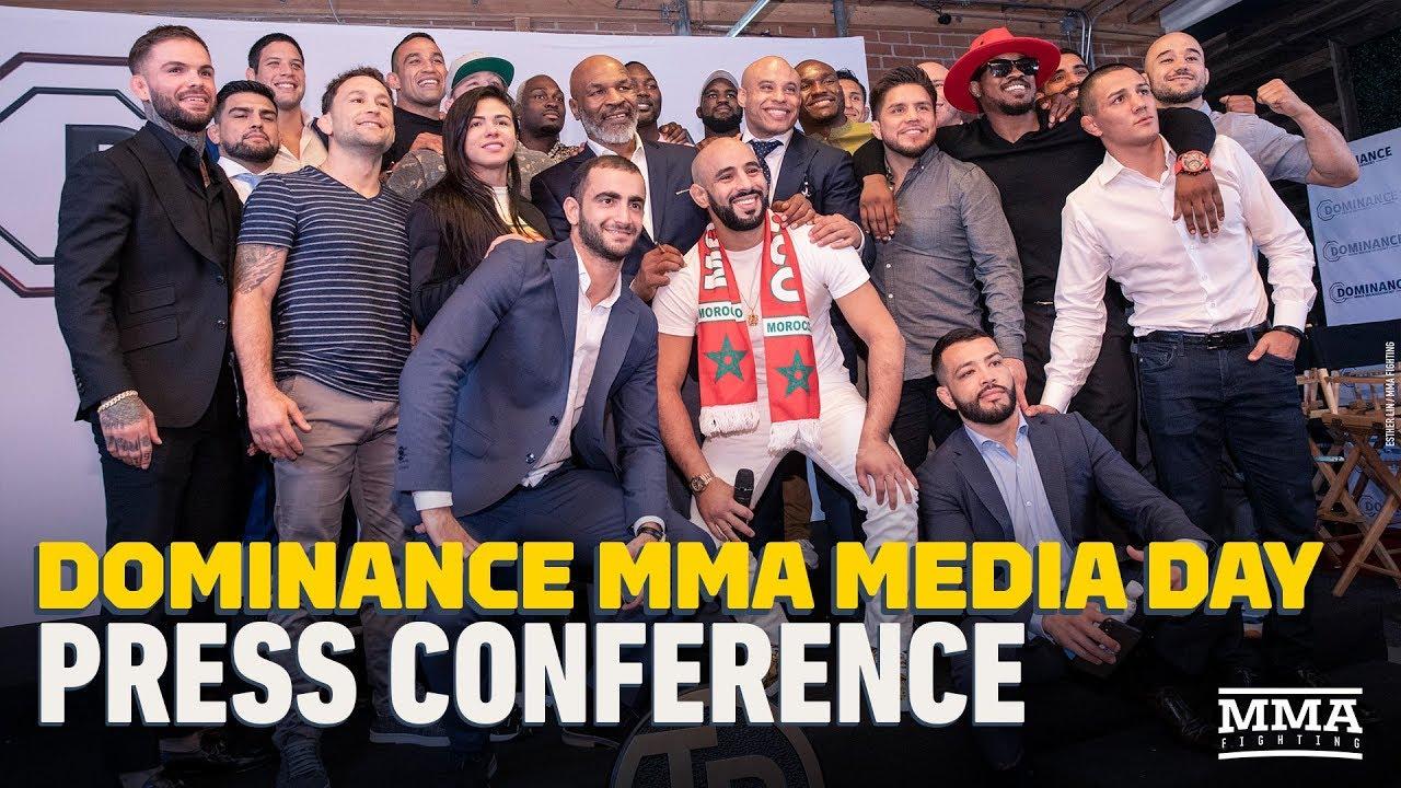 Dominance MMA Media Day Press Conference Video - MMA Fighting