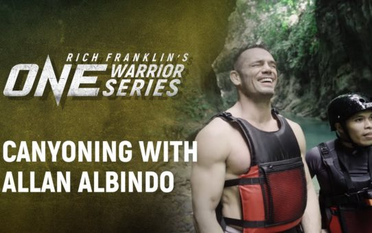 Rich Franklin's ONE Warrior Series | Best Moments: Canyoning with Allan Albindo