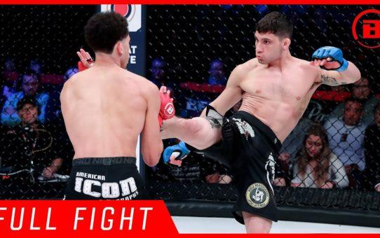 Full Fight | John Douma vs. Mike Kimbel – Bellator 215