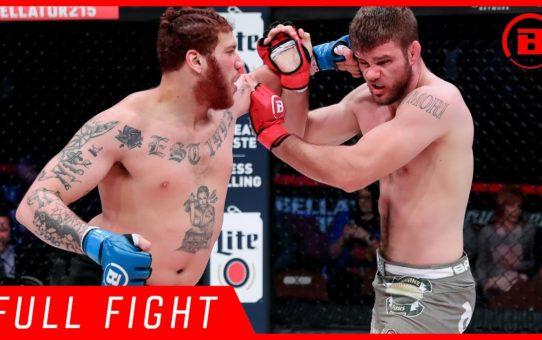 Full Fight | Steve Mowry vs. Darion Abbey – Bellator 215