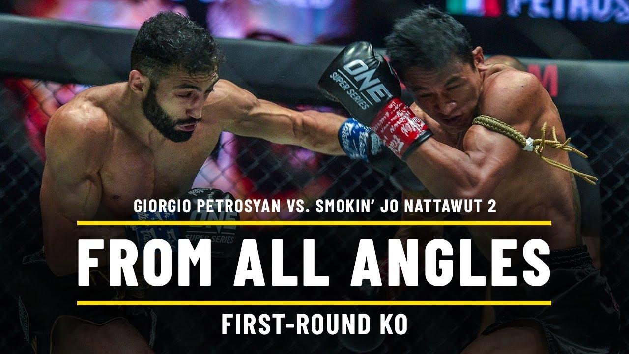 Giorgio Petrosyan vs. Smokin' Jo Nattawut 2 | ONE From All Angles