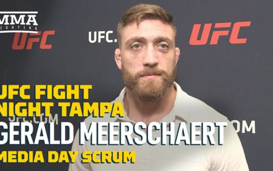Gerald Meerschaert likes his new contract, and 'I'm still working for UFC' – MMA Fighting