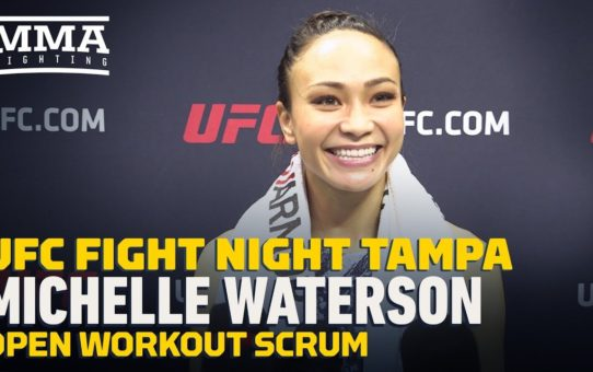 UFC Tampa: Michelle Waterson Sees Joanna Jedrzejczyk's Weight Cut Issues As A 'Victory'