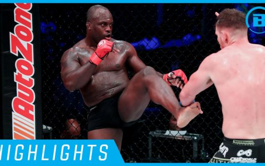 Highlights | Melvin Manhoef – #Bellator230