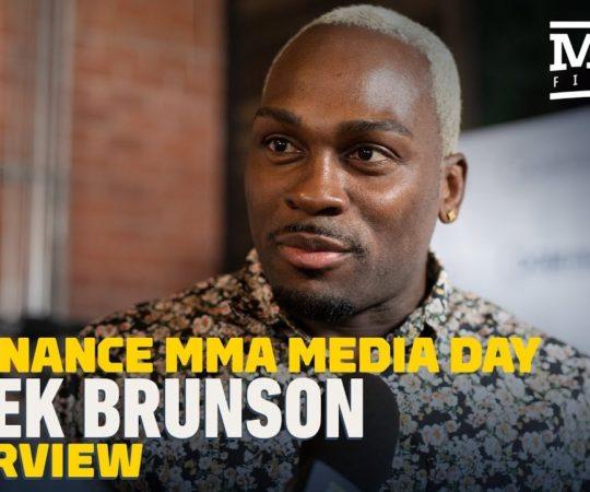 Derek Brunson Believes Middleweight Champ Israel Adesanya Is 'Very Hittable' – MMA Fighting