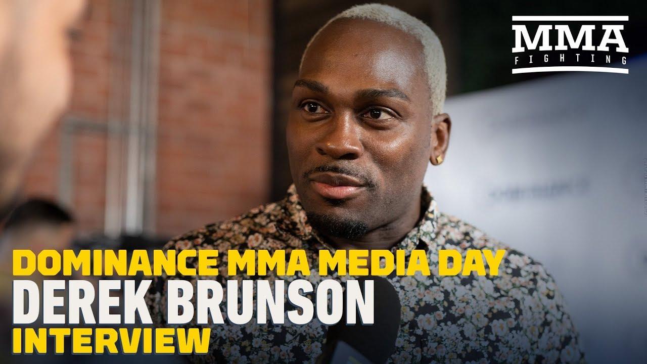 Derek Brunson Believes Middleweight Champ Israel Adesanya Is 'Very Hittable' - MMA Fighting