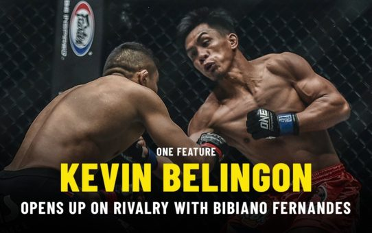 Kevin Belingon Opens Up On Rivalry With Bibiano Fernandes | ONE Feature