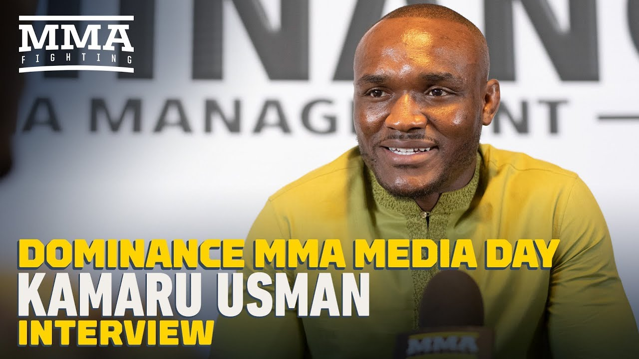 Kamaru Usman Shares DMs Of Fans Telling Him To 'End' Colby Covington - MMA Fighting