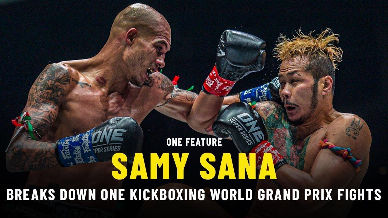 Samy Sana Breaks Down ONE Kickboxing World Grand Prix Fights | ONE Feature