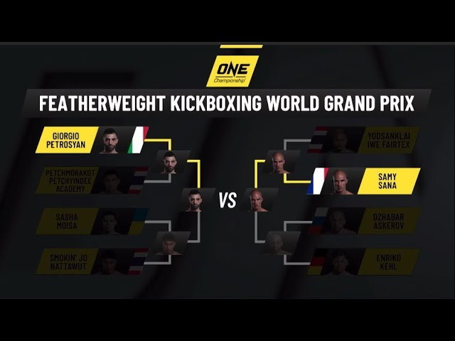Road To ONE: CENTURY   Countdown To ONE Featherweight Kickboxing World Grand Prix