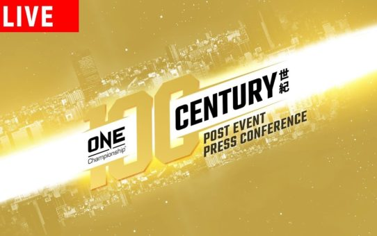 ONE Championship: CENTURY PART I Post-Event Press Conference