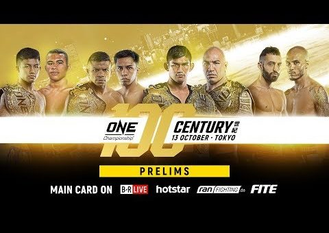 ONE Championship: CENTURY PART II Prelims